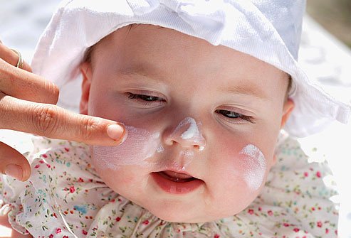 Protect Your Baby From Sunburns