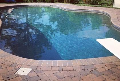 custom shape pool