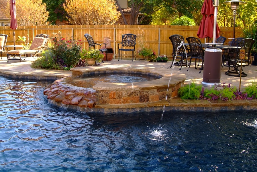 Simple Pool Enhancements And Redesigns Poolmax Pool Builder Interesting Backyard Designs With Pool Remodelling