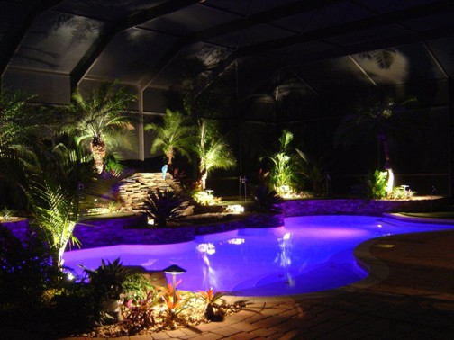 Setting Your Pool Up For Nighttime Swims