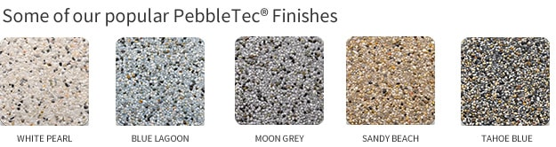 Pebbletec Finish